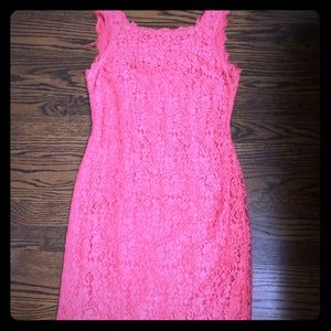 Adriana Papell lace dress